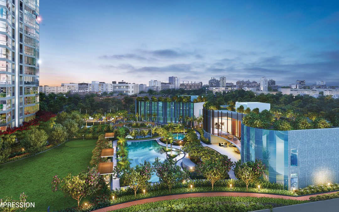Island City Center Ready to Move Luxury Apartments by Bombay Realty in Dadar East